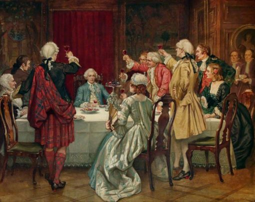 Prince Charles Edward Stuart in Edinburgh