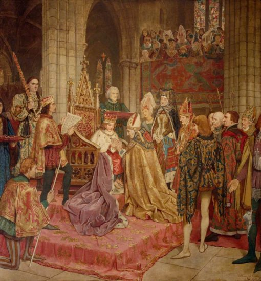 The Coronation of King James II at Holyrood