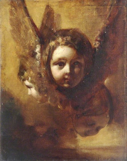 Cherubim   Henry Le Jeune   Oil Painting