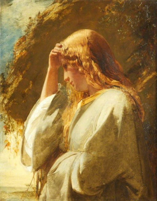 Contemplation | Henry Le Jeune | Oil Painting
