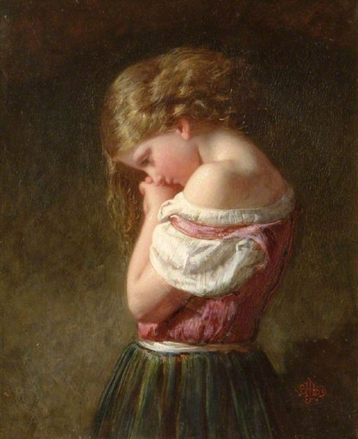 Early Sorrow | Henry Le Jeune | Oil Painting