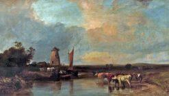 Canterbury Meadows | George Shalders | Oil Painting