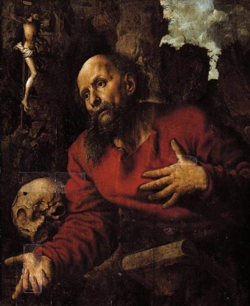 St Jerome | Jan Sanders van Hemessen | Oil Painting