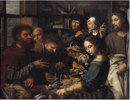 The Calling of St Matthew | Jan Sanders van Hemessen | Oil Painting
