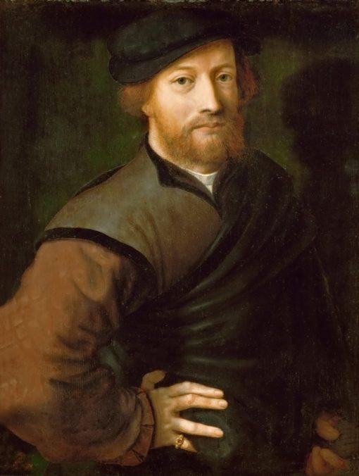 Portrait of a Man | Jan Sanders van Hemessen | Oil Painting