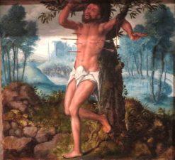 Saint Sebastian | Jan Sanders van Hemessen | Oil Painting