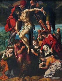 The Deposition from the Cross | Jan Sanders van Hemessen | Oil Painting