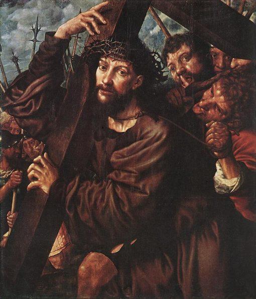 Christ Carrying the Cross | Jan Sanders van Hemessen | Oil Painting