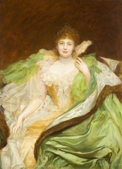 Lady Armstrong | Hubert von Herkomer | Oil Painting