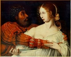 Tarquin and Lucretia | Jan Sanders van Hemessen | Oil Painting