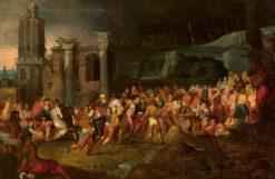 Bearing of the Cross | Adriaen van Stalbemt | Oil Painting
