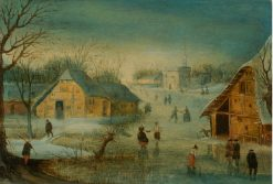 Winter | Adriaen van Stalbemt | Oil Painting