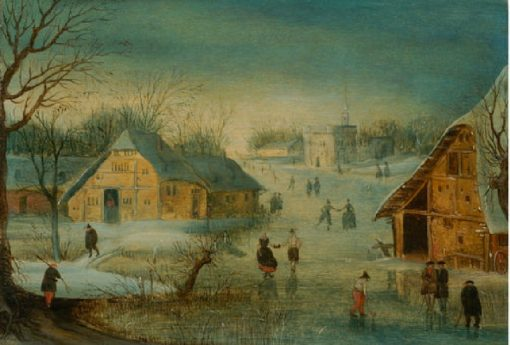 Winter | Adriaen van Stalbemt | Oil Painting