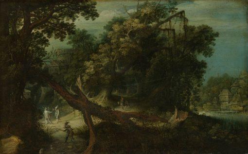 Mountainous Landscape | Adriaen van Stalbemt | Oil Painting