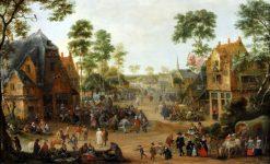 Village Festival | Adriaen van Stalbemt | Oil Painting
