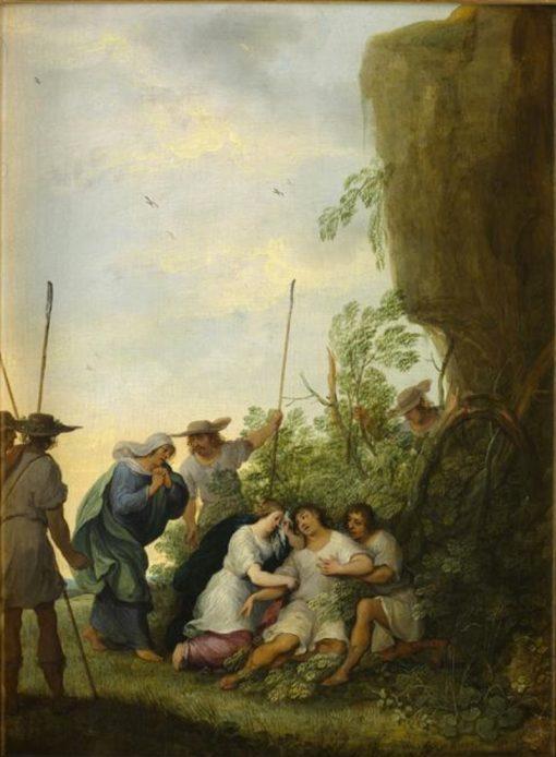 Death of Adonis | Adriaen van Stalbemt | Oil Painting