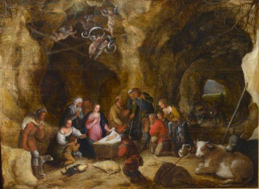 Adoration of the Shepherds | Adriaen van Stalbemt | Oil Painting