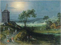 An Allegory of Summer | Adriaen van Stalbemt | Oil Painting