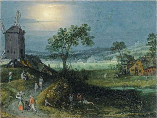 An Allegory of Summer   Adriaen van Stalbemt   Oil Painting