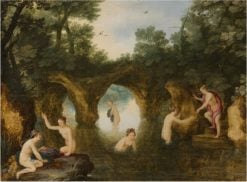 Diana and Callisto | Adriaen van Stalbemt | Oil Painting