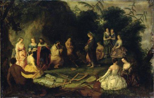 The Judgment of Midas   Adriaen van Stalbemt   Oil Painting