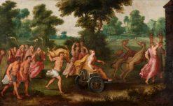 Allegory of the Month of August | Adriaen van Stalbemt | Oil Painting