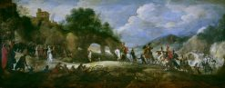 The Triumph of David | Adriaen van Stalbemt | Oil Painting