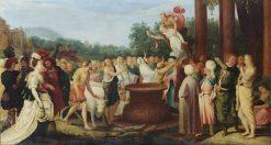 The Banquet of the Gods | Adriaen van Stalbemt | Oil Painting