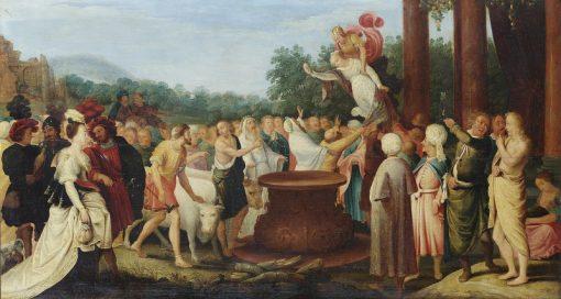 The Banquet of the Gods   Adriaen van Stalbemt   Oil Painting