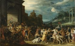 The Horatii Entering Rome | Adriaen van Stalbemt | Oil Painting