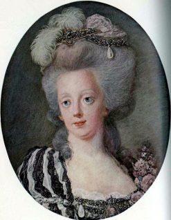 Portrait of Queen Sophia Magdalene of Sweden | Niklas Lafrensen | Oil Painting