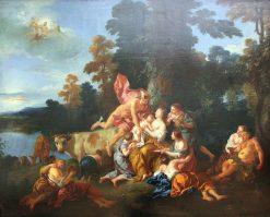 The Education of Bacchus | Jean-Francois de Troy | Oil Painting