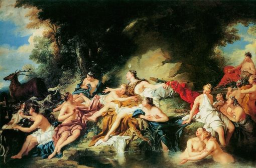 Diana Suprised by Acteon | Jean-Francois de Troy | Oil Painting