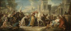 The Triumph of Mordecai | Jean-Francois de Troy | Oil Painting