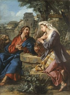 Christ and the Samaritan Woman | Jean-Francois de Troy | Oil Painting