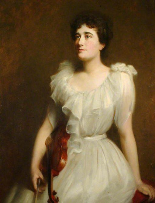 Marie Douglas (Mrs Arthur Stothert) | Hubert von Herkomer | Oil Painting