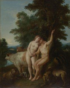 Adam and Eve | Jean-Francois de Troy | Oil Painting