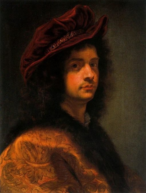 Self Portrait | Giovanni Battista Gaulli | Oil Painting