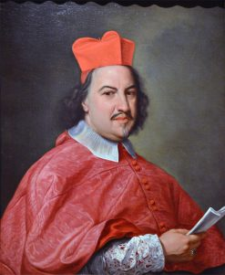 Portrait of Cardinal Giovanni Francesco Ginetti | Giovanni Battista Gaulli | Oil Painting