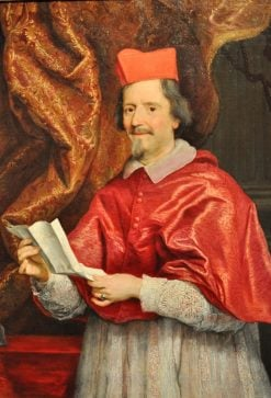 Portrait of Cardinal Giulio Spinola | Giovanni Battista Gaulli | Oil Painting