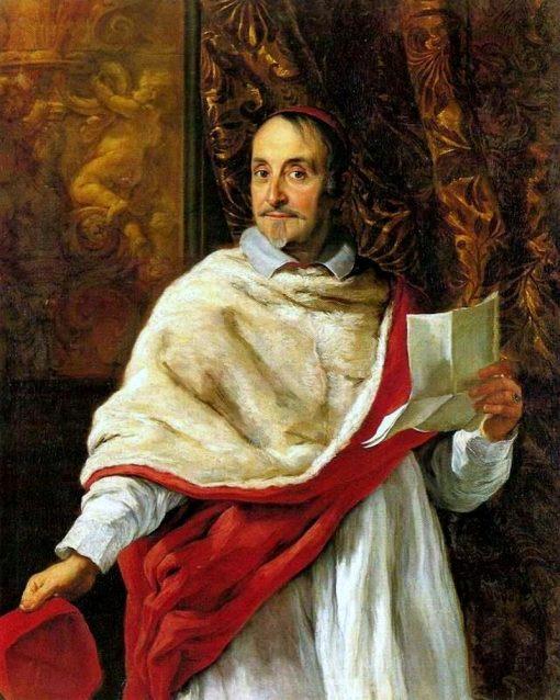 Portrait of Cardinal Luigi Alessandro Omodei | Giovanni Battista Gaulli | Oil Painting
