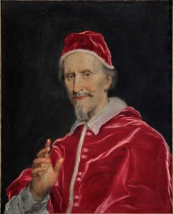 Pope Clement IX | Giovanni Battista Gaulli | Oil Painting