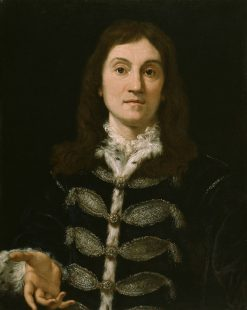 Portrait of a Man | Giovanni Battista Gaulli | Oil Painting