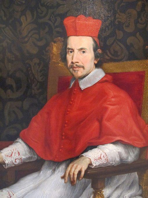 Cardinal Marco Gallo   Giovanni Battista Gaulli   Oil Painting