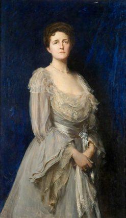 Mrs Edwin Tate | Hubert von Herkomer | Oil Painting