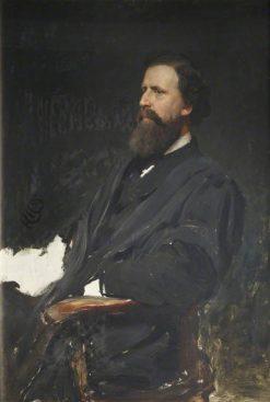 Mr Alexander MacDonald | Hubert von Herkomer | Oil Painting