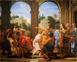 Joseph Recognized by his Brothers | Giovanni Battista Gaulli | Oil Painting