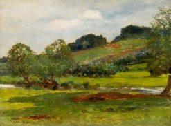 Near the River | Hubert von Herkomer | Oil Painting
