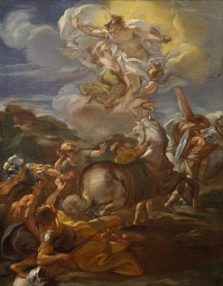 Conversion of Saint Paul | Giovanni Battista Gaulli | Oil Painting