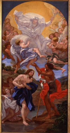 The Baptism of Christ | Giovanni Battista Gaulli | Oil Painting
